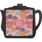 Mums Flower Teapot Trivet (Personalized)