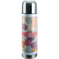Mums Flower Stainless Steel Thermos (Personalized)