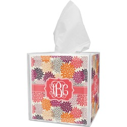 Mums Flower Tissue Box Cover (Personalized)