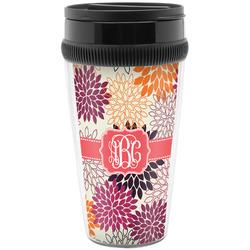 Mums Flower Travel Mug (Personalized)