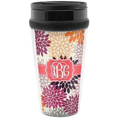 Mums Flower Travel Mugs (Personalized)