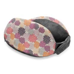 Mums Flower Travel Neck Pillow