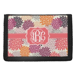 Mums Flower Trifold Wallet (Personalized)