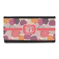 Mums Flower Leatherette Ladies Wallet (Personalized)