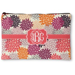 Mums Flower Zipper Pouch (Personalized)