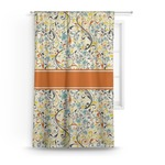Swirly Floral Curtain (Personalized)