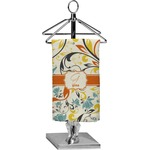 Swirly Floral Finger Tip Towel - Full Print (Personalized)