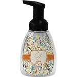 Swirly Floral Foam Soap Dispenser (Personalized)