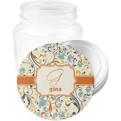 Swirly Floral Jar Opener (Personalized)