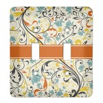 Swirly Floral Light Switch Cover (2 Toggle Plate) (Personalized)