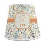 Swirly Floral Empire Lamp Shade (Personalized)