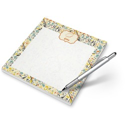 Swirly Floral Notepad (Personalized)