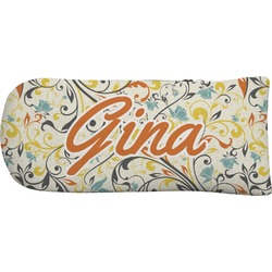 Swirly Floral Putter Cover (Personalized)