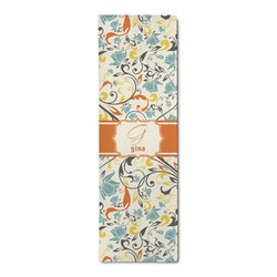 Swirly Floral Runner Rug - 3.66'x8' (Personalized)