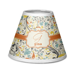Swirly Floral Chandelier Lamp Shade (Personalized)