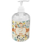 Swirly Floral Soap / Lotion Dispenser (Personalized)