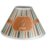 Orange & Blue Stripes Coolie Lamp Shade (Personalized)