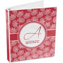 Coral 3-Ring Binder (Personalized)