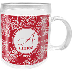Coral Acrylic Kids Mug (Personalized)