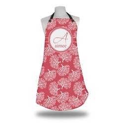 Coral Apron (Personalized)