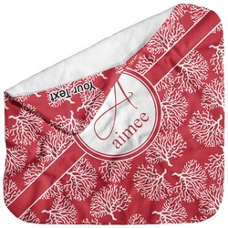 Coral Baby Hooded Towel (Personalized)