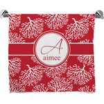 Coral Bath Towel (Personalized)