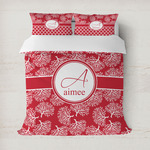 Coral Duvet Cover (Personalized)