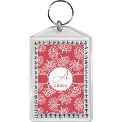 Coral Bling Keychain (Personalized)