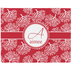 Coral Placemat (Fabric) (Personalized)