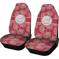 Coral Car Seat Covers (Set of Two) (Personalized)
