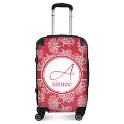 Coral Suitcase (Personalized)