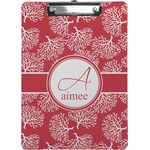 Coral Clipboard (Personalized)