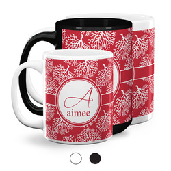 Coral Coffee Mugs (Personalized)