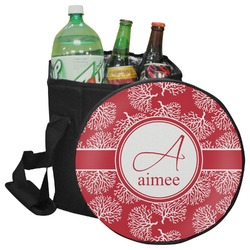 Coral Collapsible Cooler & Seat (Personalized)