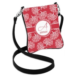 Coral Cross Body Bag - 2 Sizes (Personalized)