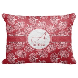 "Coral Decorative Baby Pillowcase - 16""x12"" (Personalized)"