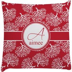 Coral Decorative Pillow Case (Personalized)