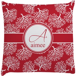 Coral Decorative Pillow Case (Personalized)