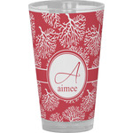 Coral Drinking / Pint Glass (Personalized)