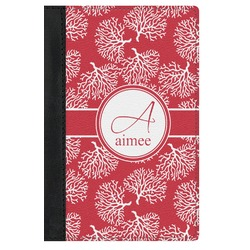 Coral Genuine Leather Passport Cover (Personalized)
