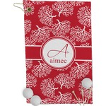 Coral Golf Towel - Full Print (Personalized)