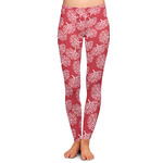 Coral Ladies Leggings (Personalized)