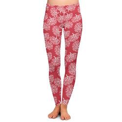 Coral Ladies Leggings - Medium (Personalized)