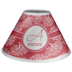 Coral Coolie Lamp Shade (Personalized)