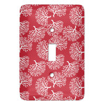 Coral Light Switch Covers (Personalized)