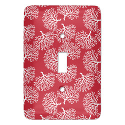 Coral Light Switch Covers - Multiple Toggle Options Available (Personalized)