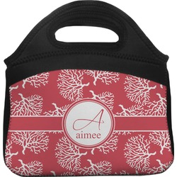 Coral Lunch Tote (Personalized)