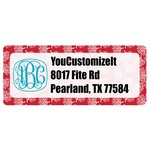 Coral Return Address Labels (Personalized)