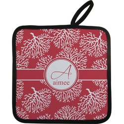 Coral Pot Holder (Personalized)