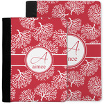 Coral Notebook Padfolio w/ Name and Initial